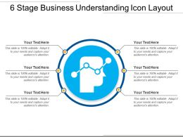 6 Stage Business Understanding Icon Layout