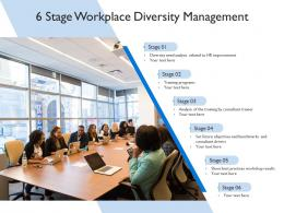 6 Stage Workplace Diversity Management