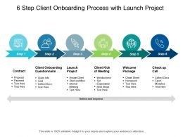 6 Step Client Onboarding Process With Launch Project