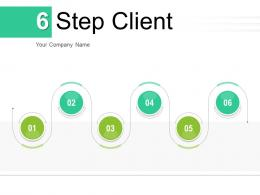 6 Step Client Process Financial Marketing Business Requirements Techniques Information