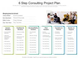 6 Step Consulting Project Plan