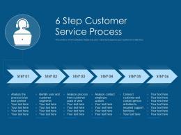 6 Step Customer Service Process