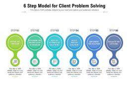 6 Step Model For Client Problem Solving