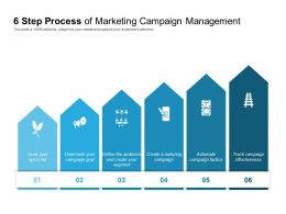 6 Step Process Of Marketing Campaign Management