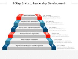 6 Step Stairs To Leadership Development
