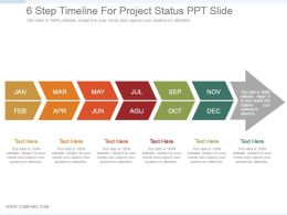 6_step_timeline_for_project_status_ppt_slide_Slide01
