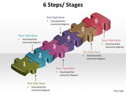 6 steps powerpoint slides presentation diagrams templates