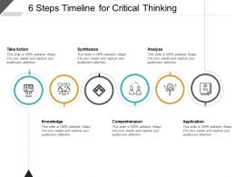 6 Steps Timeline For Critical Thinking