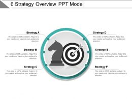 6 Strategy Overview Ppt Model