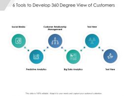 6 Tools To Develop 360 Degree View Of Customers