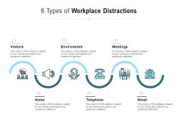 6 Types Of Workplace Distractions