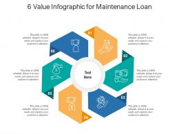 6 Value For Maintenance Loan Infographic Template