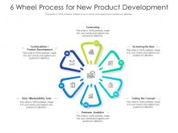 6 Wheel Process For New Product Development
