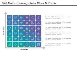 49180005 Style Hierarchy Matrix 6 Piece Powerpoint Presentation Diagram Infographic Slide