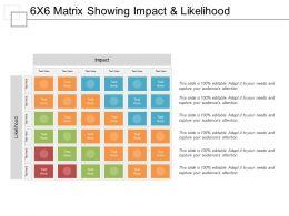 15850971 Style Hierarchy Matrix 6 Piece Powerpoint Presentation Diagram Infographic Slide