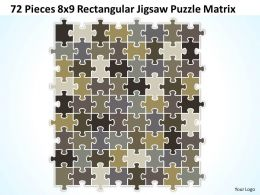 72_pieces_8x9_rectangular_jigsaw_puzzle_matrix_powerpoint_templates_0812_Slide01