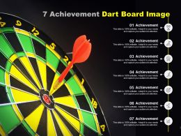 7 Achievement Dart Board Image