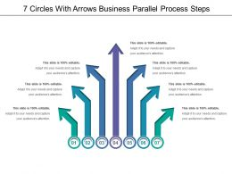 7 Arrows Business Parallel Process Steps