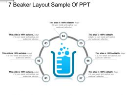 7 Beaker Layout Sample Of PPT