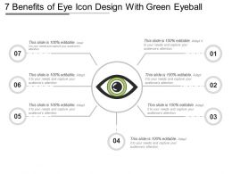 7 Benefits Of Eye Icon Design With Green Eyeball