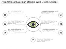 7 Benefits Of Eye Icon Design With Green Eyeball