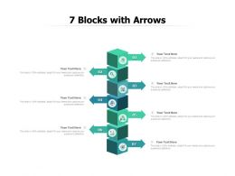 7 Blocks With Arrows