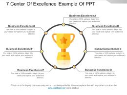 7 Center Of Excellence Example Of Ppt