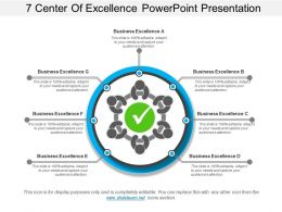 7 Center Of Excellence Powerpoint Presentation