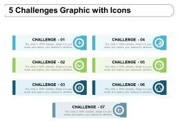 7 Challenges Graphic With Icons