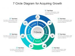 7 Circle Diagram For Acquiring Growth Infographic Template