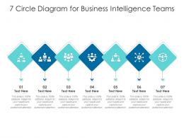 7 Circle Diagram For Business Intelligence Teams Infographic Template
