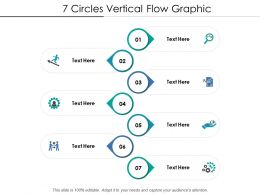 7 Circles Vertical Flow Graphic