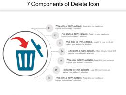 7 Components Of Delete Icon
