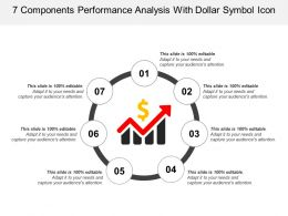 7 Components Performance Analysis Icon