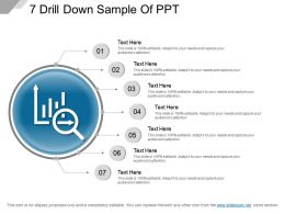 7 Drill Down Sample Of Ppt