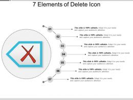 7 Elements Of Delete Icon