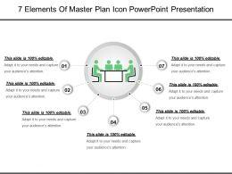 7_elements_of_master_plan_icon_powerpoint_presentation_Slide01