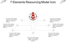 7 Elements Resourcing Model Icon Presentation Layouts