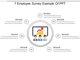 7 Employee Survey Example Of Ppt
