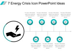 7 Energy Crisis Icon Powerpoint Ideas