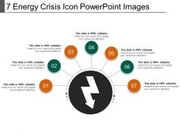 7 Energy Crisis Icon Powerpoint Images