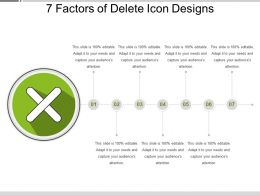7 Factors Of Delete Icon Designs