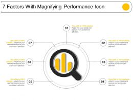 7 Factors With Magnifying Performance Icon