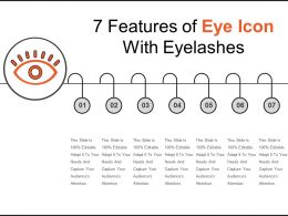 7 Features Of Eye Icon With Eyelashes