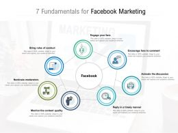 7 Fundamentals For Facebook Marketing