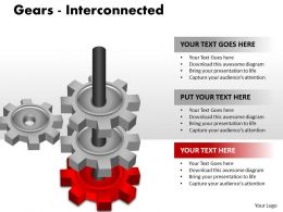 7 Gears Interconnected