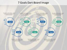 7 Goals Dart Board Image