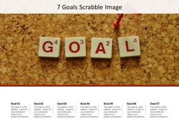 7 Goals Scrabble Image