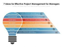 7 Ideas For Effective Project Management For Managers