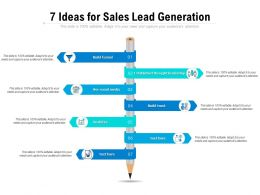 7 Ideas For Sales Lead Generation